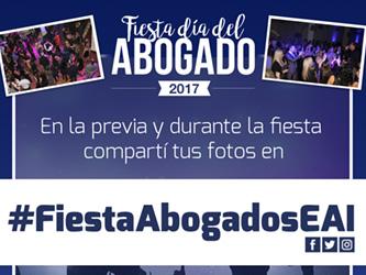 Fiesta día del Abogado 2017