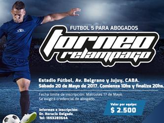 Torneo relampago de futbol 5