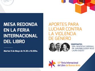 Mesa redonda en la Feria Internacional del Libro