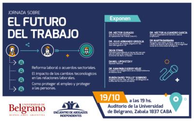JORNADA DE DEBATE:  EL FUTURO DEL TRABAJO