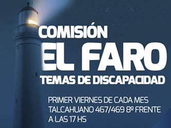 Comisión el Faro, temas de discapacidad