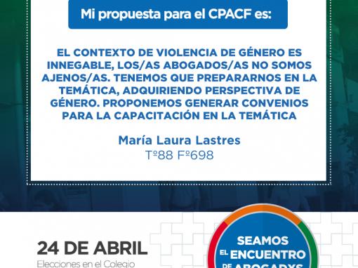 María Laura Lastres