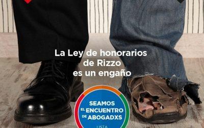 LA  LEY DE HONORARIOS ES UN FRAUDE