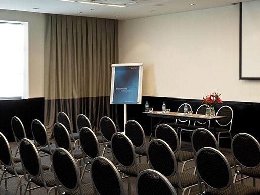 Sala para eventos hotel Novotel